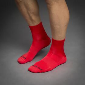 GripGrab Lightweight SL Korte Swimrun Sokken, rood